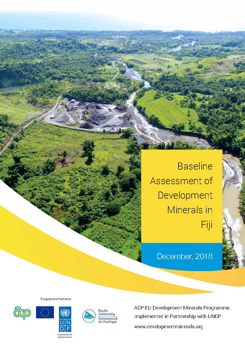 Baseline Assessment of Development Minerals in Fiji