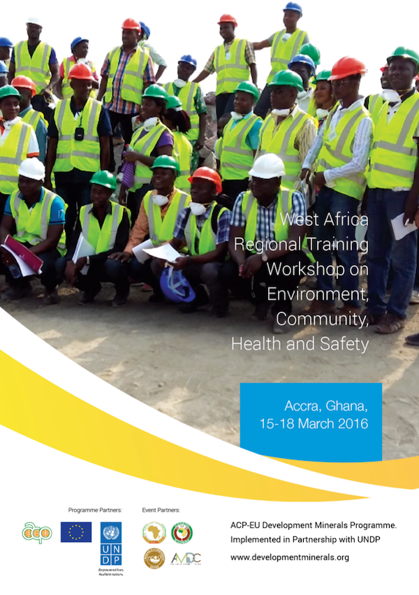 West Africa Regional Training Workshop on Environment, Community, Health & Safety