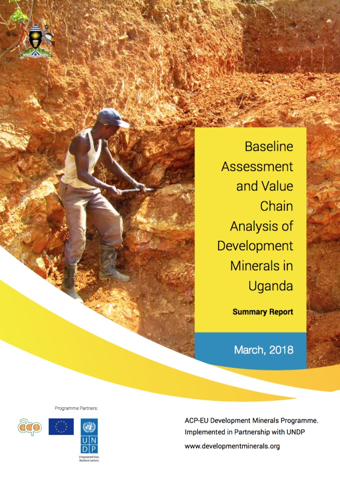 Baseline Assessment of Development Minerals in Uganda - Summary Report